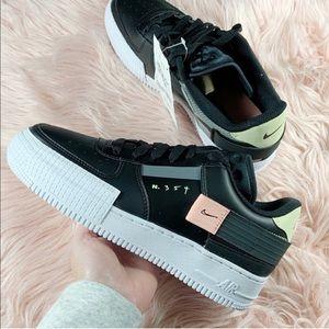 Black and White Nike Air Force 1